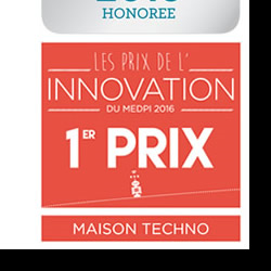 Interrupteur Smart PEEBLE - Conception et design eurodesign.paris pour Awox en 2015 - euro design