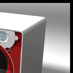 Lave linge - Conception et design eurodesign.paris pour Little Swan en 2001
